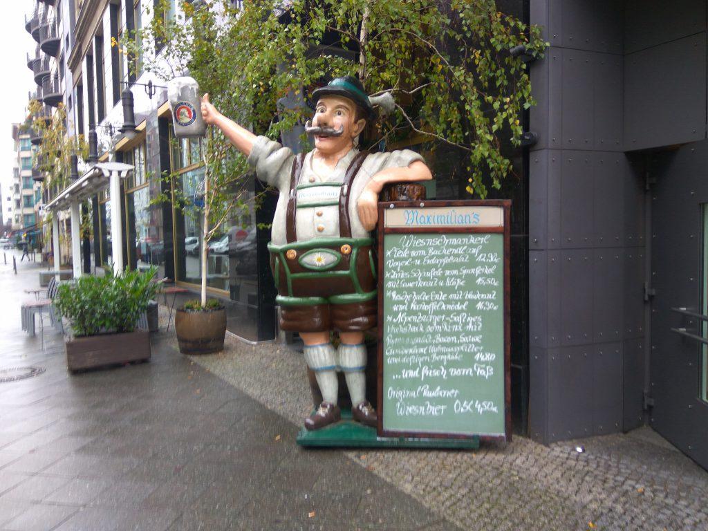 Пивной ресторан в Берлине